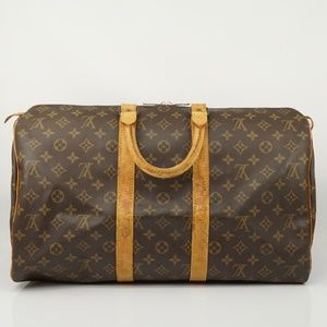 Auth Louis Vuitton Keepall 45 Travel Bag #1165L22